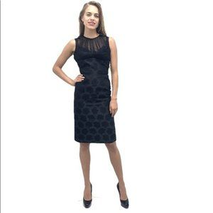 NWT McQueen Floral Jacquard Bodycon Lace Dress
